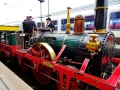 ADLER Fahrt - Dampflokomotive