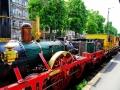 ADLER Fahrt - kompletter Zug