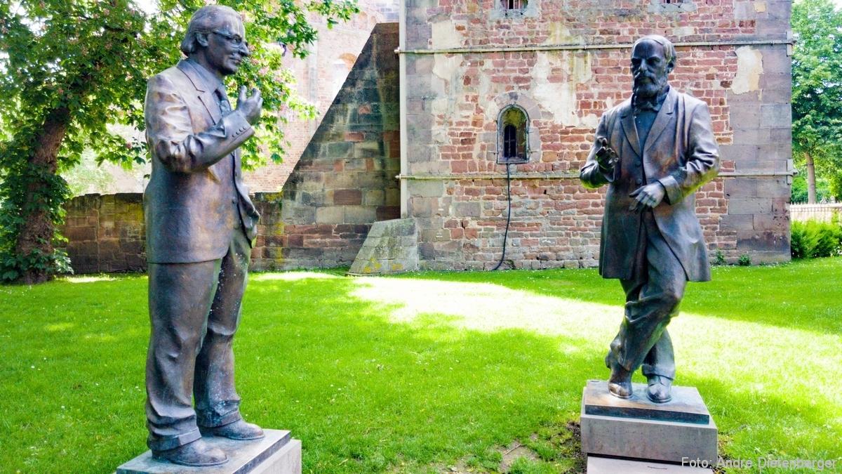 Konrad Zuse und Konrad Duden