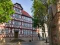 Fachwerkhaus an der Stadtkirche