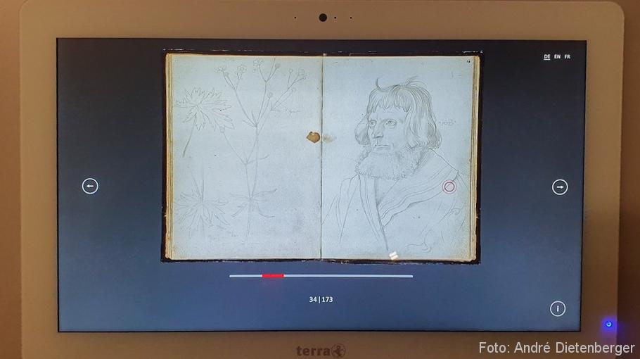 Karlsruher Skizzenbuch - digitales Skizzenbuch