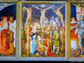 Freiburger Hochaltar, Rückseite, Kreuzgang Christi (1516)