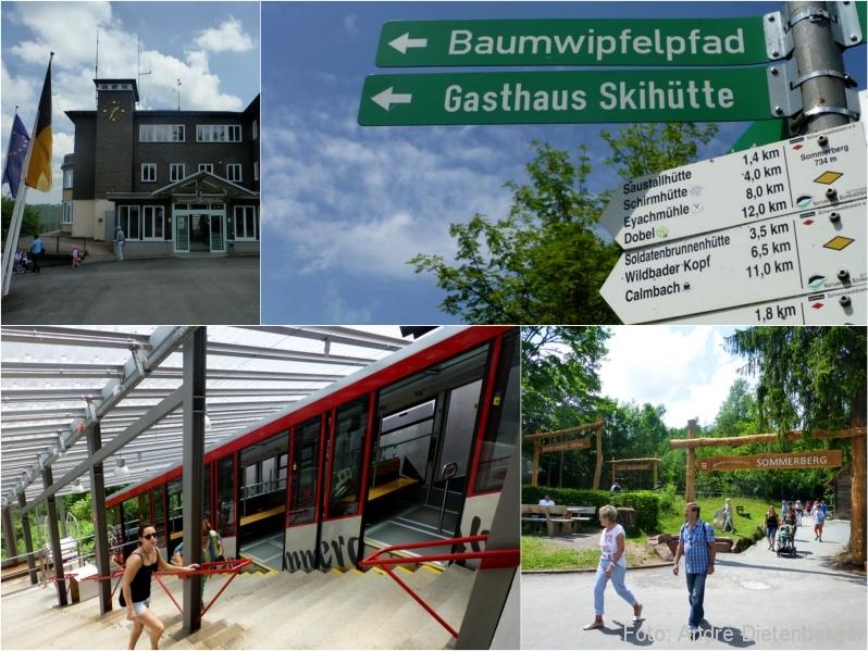 Baumwipfelpfad - Sommerbergbahn Bergstation