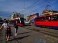 Belgrad - alte und neue Straßenbahn