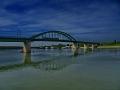 Belgrad - Waterfront Brücke über die Save