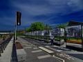 Belgrad - Waterfront Promenade mit Geschichtstafeln