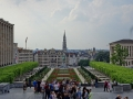 Brüssel - Blick vom Kunstberg in die Stadt