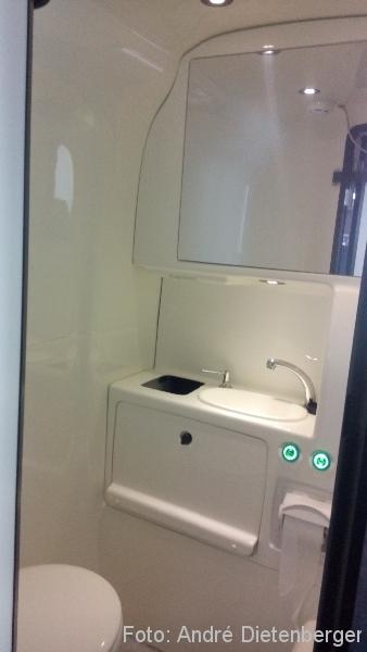 ADAC Postbus Toilette