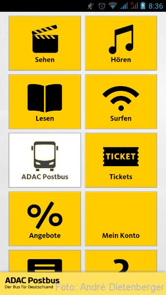 ADAC Postbus APP