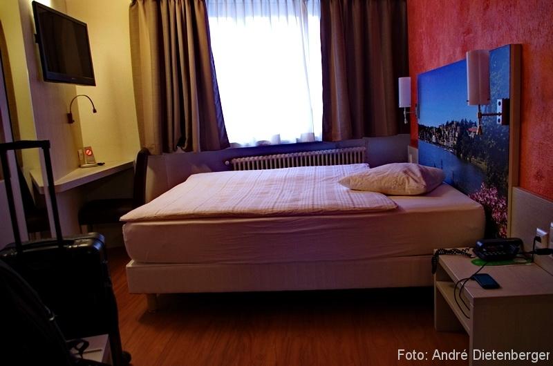 Acquarello Zimmer und Fenster