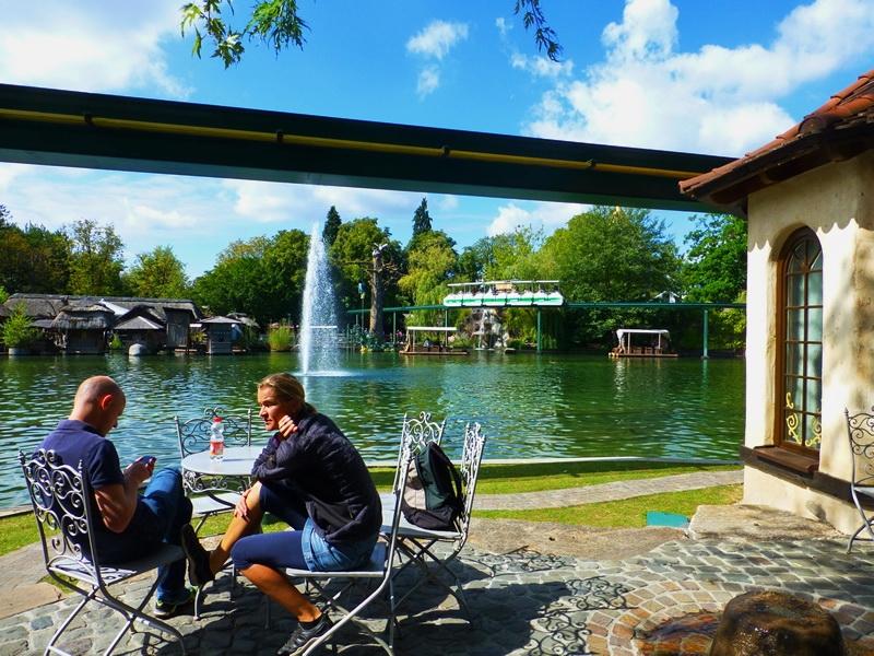 Europa-Park - Ruhig am See