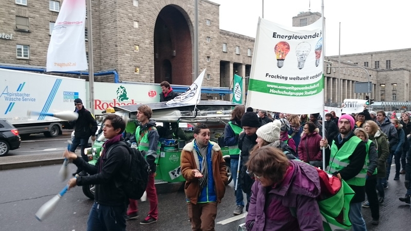 The Pilgreens - Climate Parade Stuttgart: