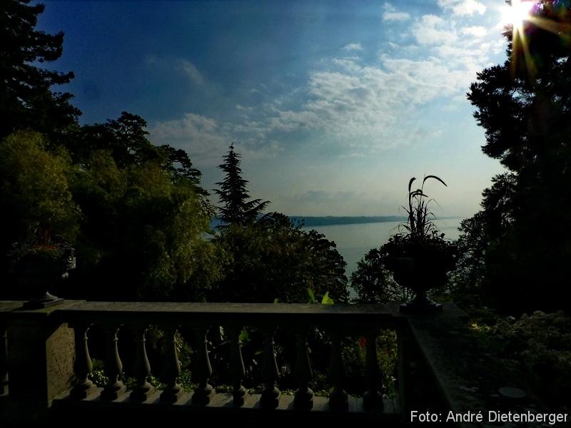 Mainau - Ausblick auf den See
