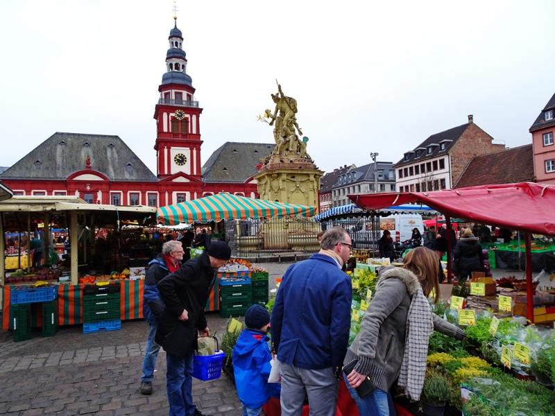 Mannheim - Marktplatz