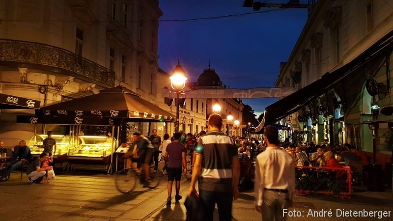Belgrad - Knez Mihailova Abends