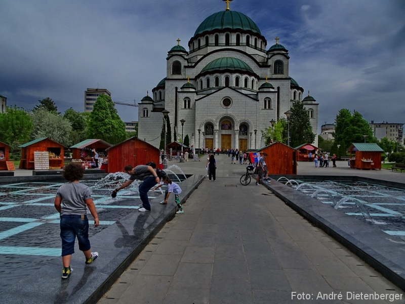 Belgrad - Saint Sava Church