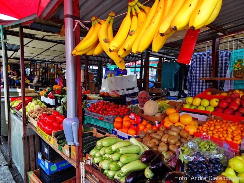 Belgrad - Skadarlija Markt Obst