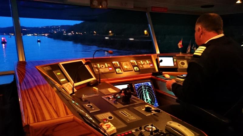 Rhein in Flammen - Beim Kapitän