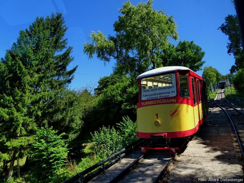 Karlsruhe - Durlach Turmbergbahn