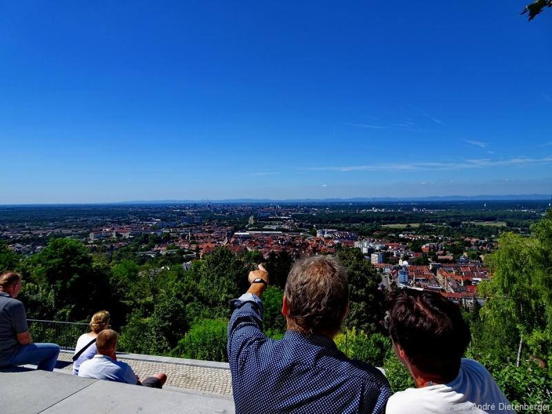Karlsruhe - Turmberg Aussicht