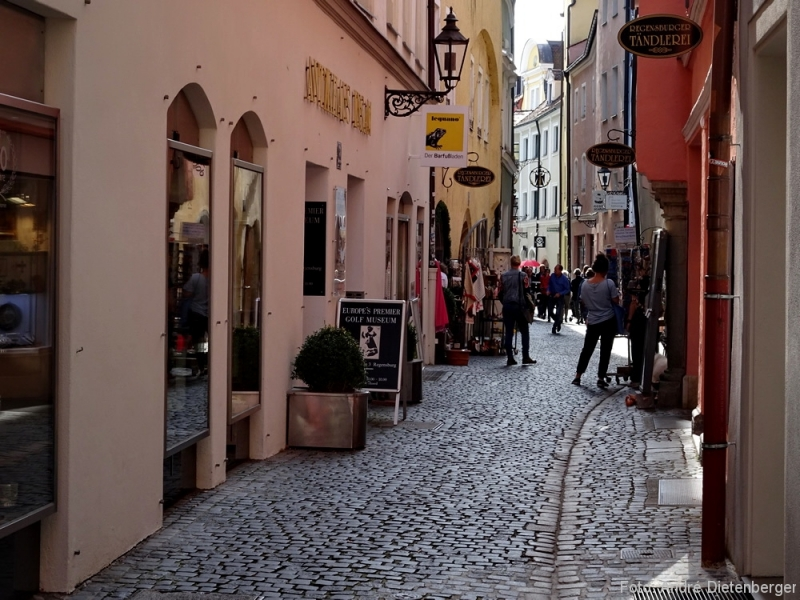 Regensburg - kleine Gasse