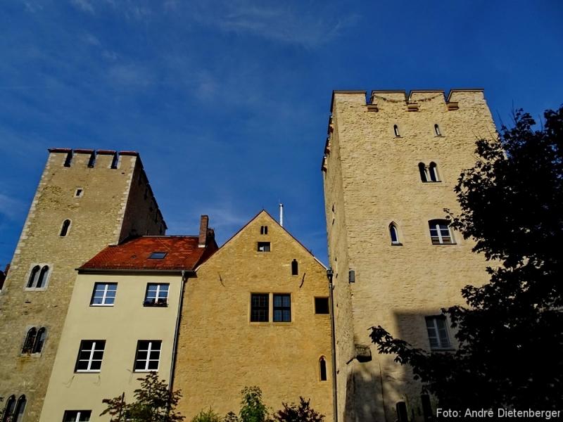 Regensburg - Typisches Stadtbild