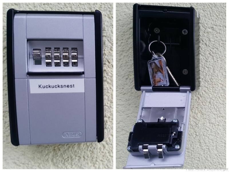 Kuckucksnest - Schlüsselbox