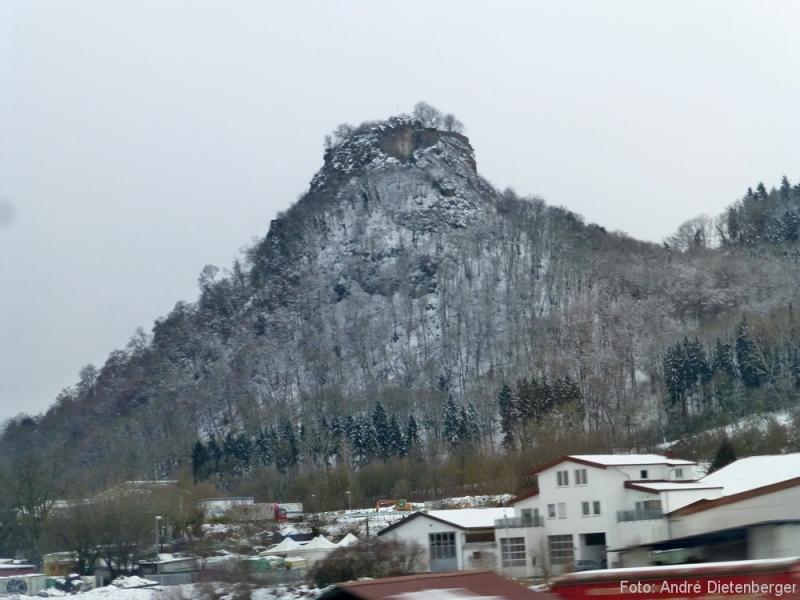 Schwarzwaldbahn - Burgruine