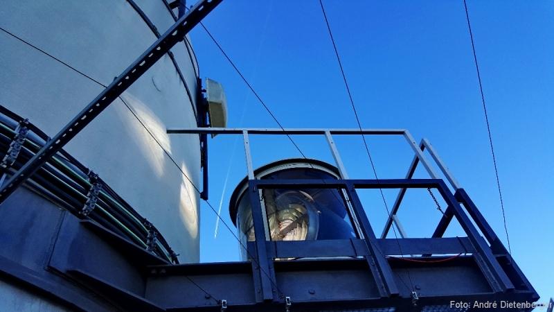 Fernsehturm - Drehlinsenbefeuerungen