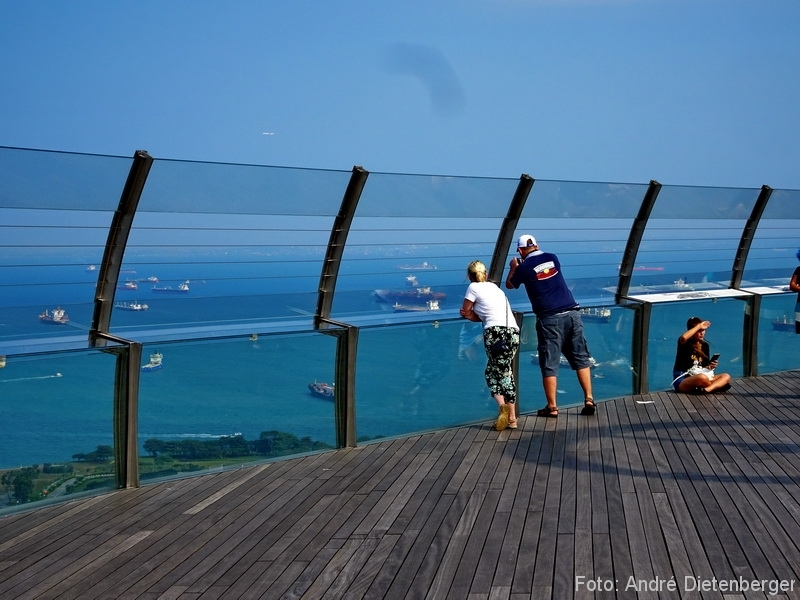 Singapore - marina bay sands skydeck