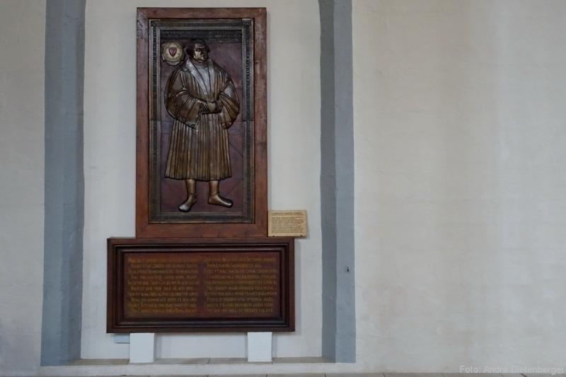 Martin Luther Grabplatte, 18. Februar 1546