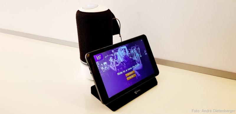BT Lautsprecher und Infopad