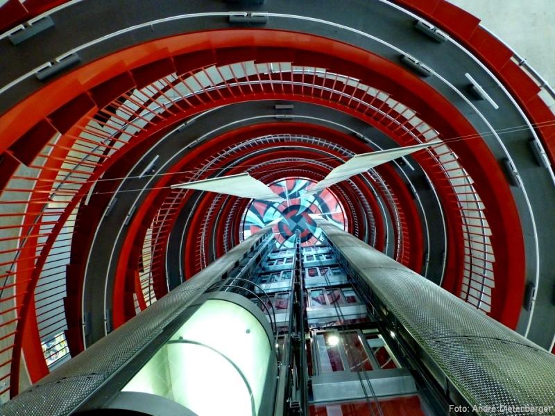 Stadtbibliothek Rote Treppe