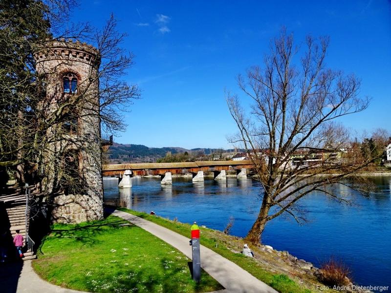 Bad Säckingen - Diebturm und Holzbrücke