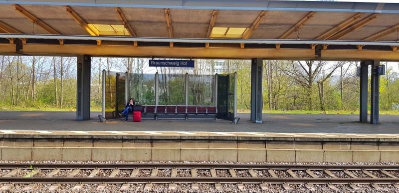 Bahnsteig