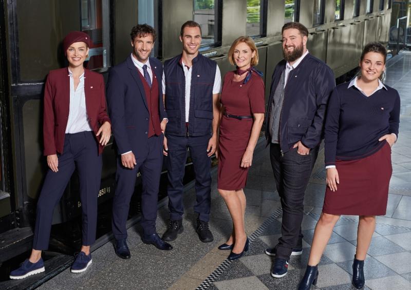 Neue DB Unternehmensbekleidung