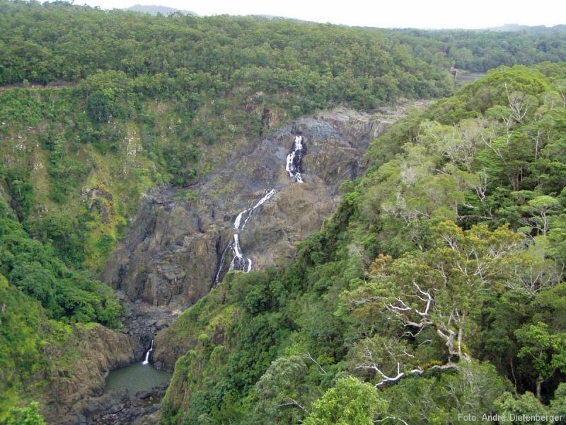 Barron Falls aus der Seilbahn