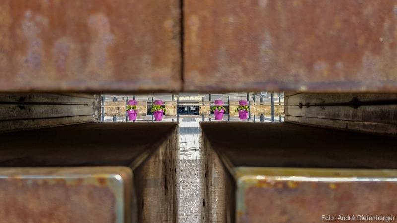 Blick aufs Deutsche Tor
