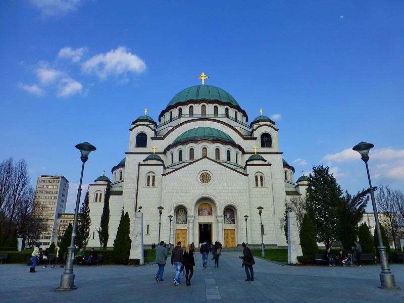 Die Kathedrale des Heiligen Sava (Hram Svetog Save)