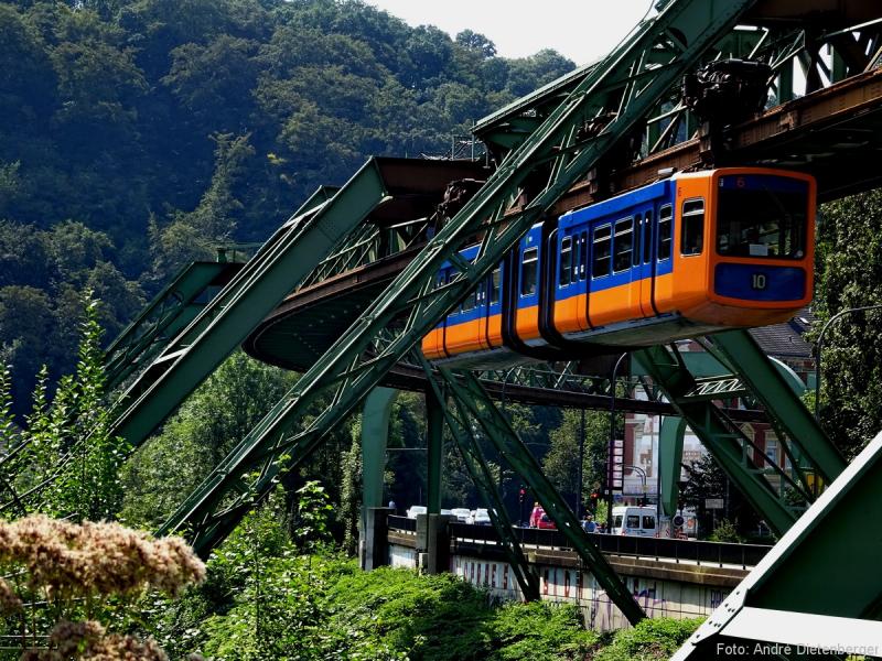 Die Bergischen Drei - Wuppertaler Schwebebahn