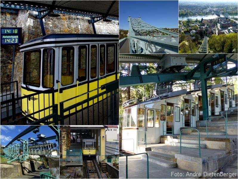 Dresden - Zahnradbahn, Schwebebahn, Blaues Wunder