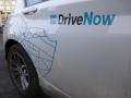DriveNow ActiveE Berlin Schriftzug