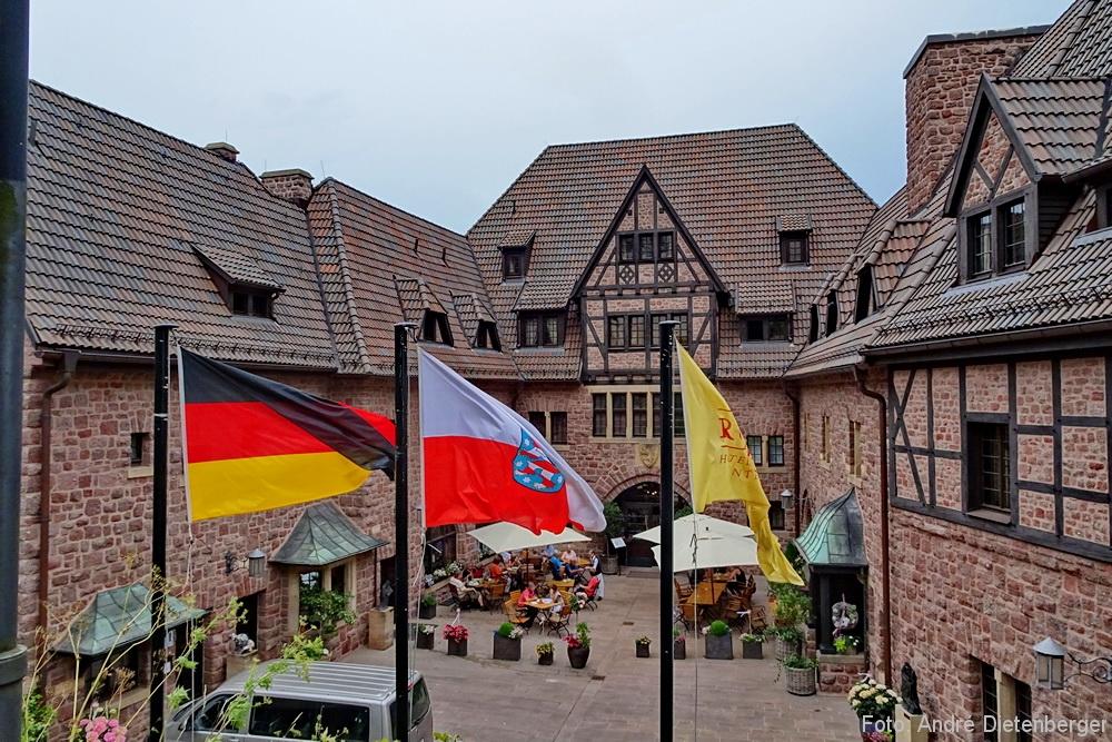 Hotel Wartburg - Innenhof