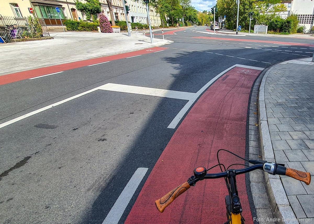 Fahrradspuren