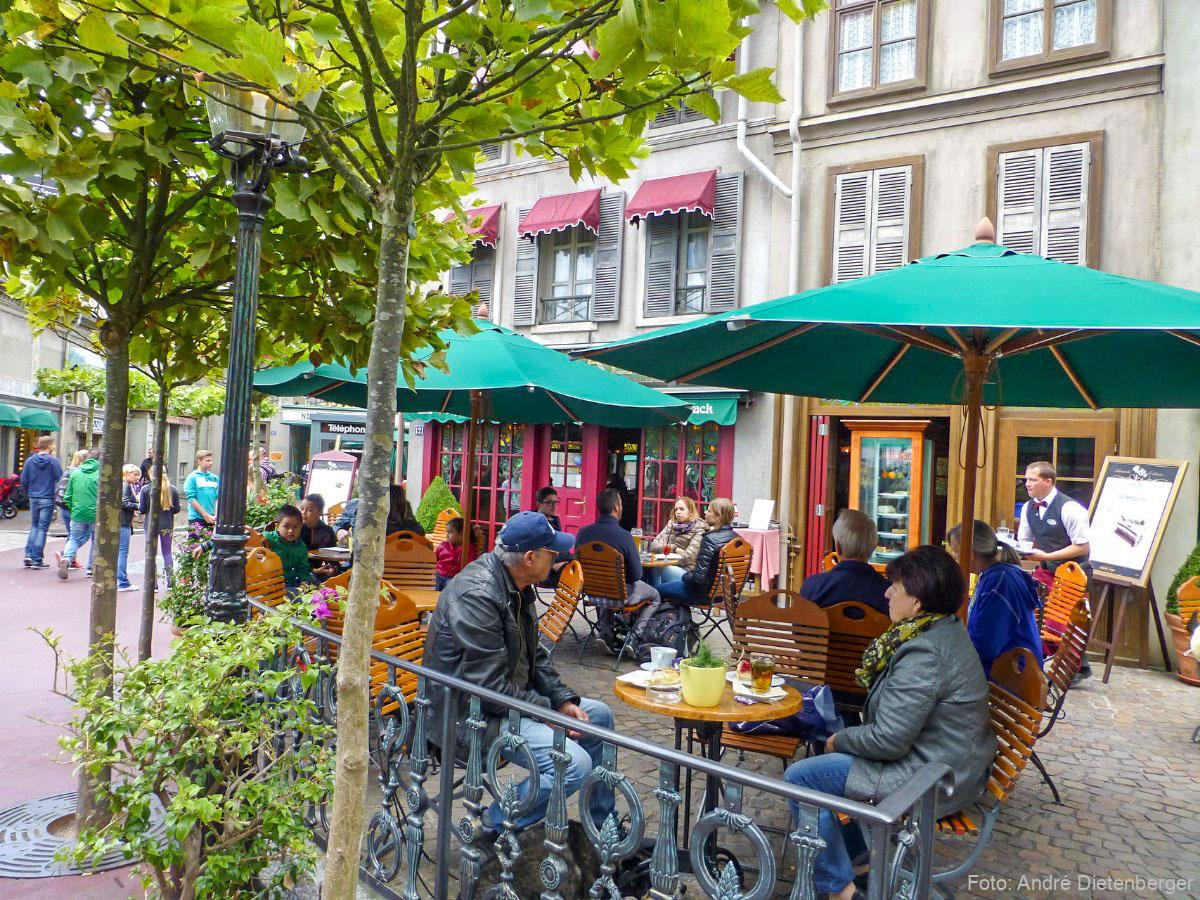 Europa-Park - Französisches Café