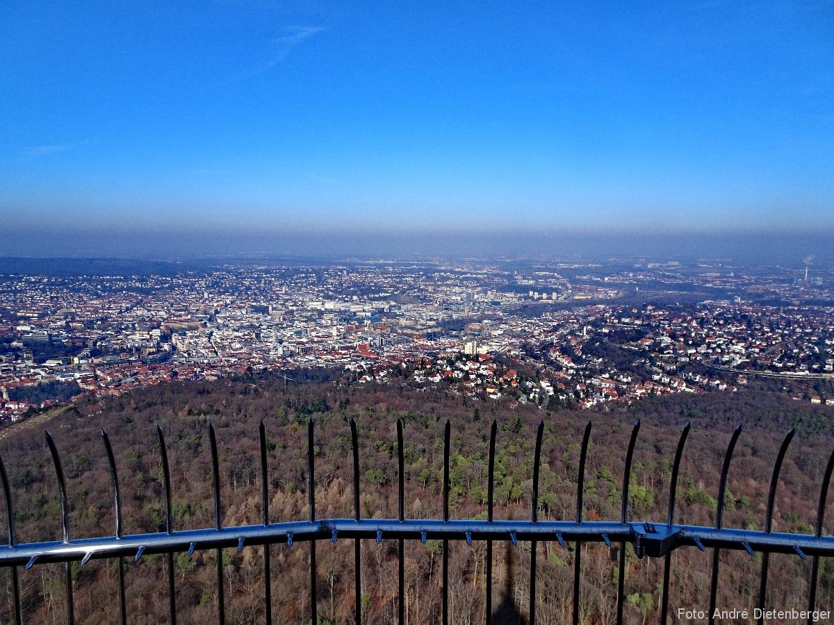 Fernsehturm - Aussichtsplattform oben