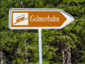 Schild Gelmerbahn