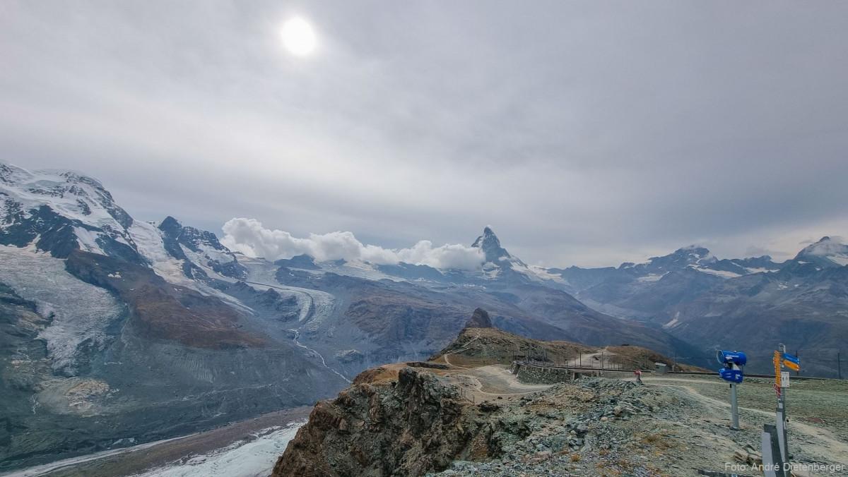 Gornergrat Berg Panorma
