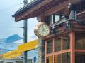 OMEGA Bahnhofs Uhr