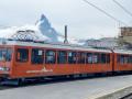 Gornergrat Bahn mit Matterhorn